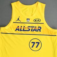 LukaDoncic - Game-Worn 2021 NBA All-Star Jersey - 1st Half