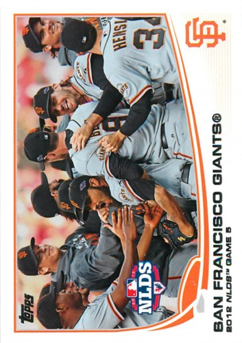 Photo of 2013 Topps #260 San Francisco Giants
