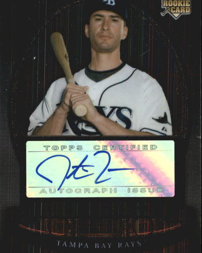 Photo of 2008 Bowman Sterling #JMR Justin Ruggiano AU RC
