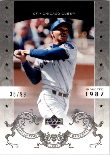 Photo of 2005 Upper Deck Hall of Fame Silver #4 Billy Williams
