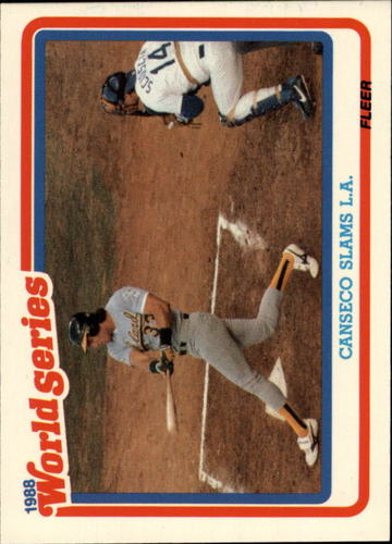 Photo of 1989 Fleer Glossy #WS3 Jose Canseco