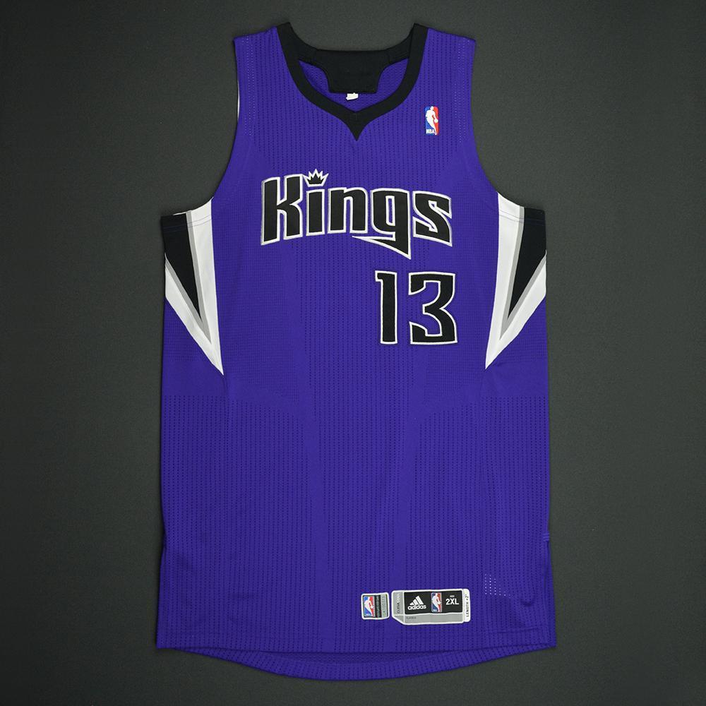 ab74e7592 Tyreke Evans - Sacramento Kings - Game-Worn Regular Season Jersey - 2011-12
