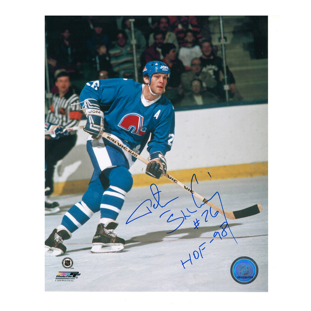 PETER STASTNY Signed Quebec Nordiques 8 X 10 Photo - 70019