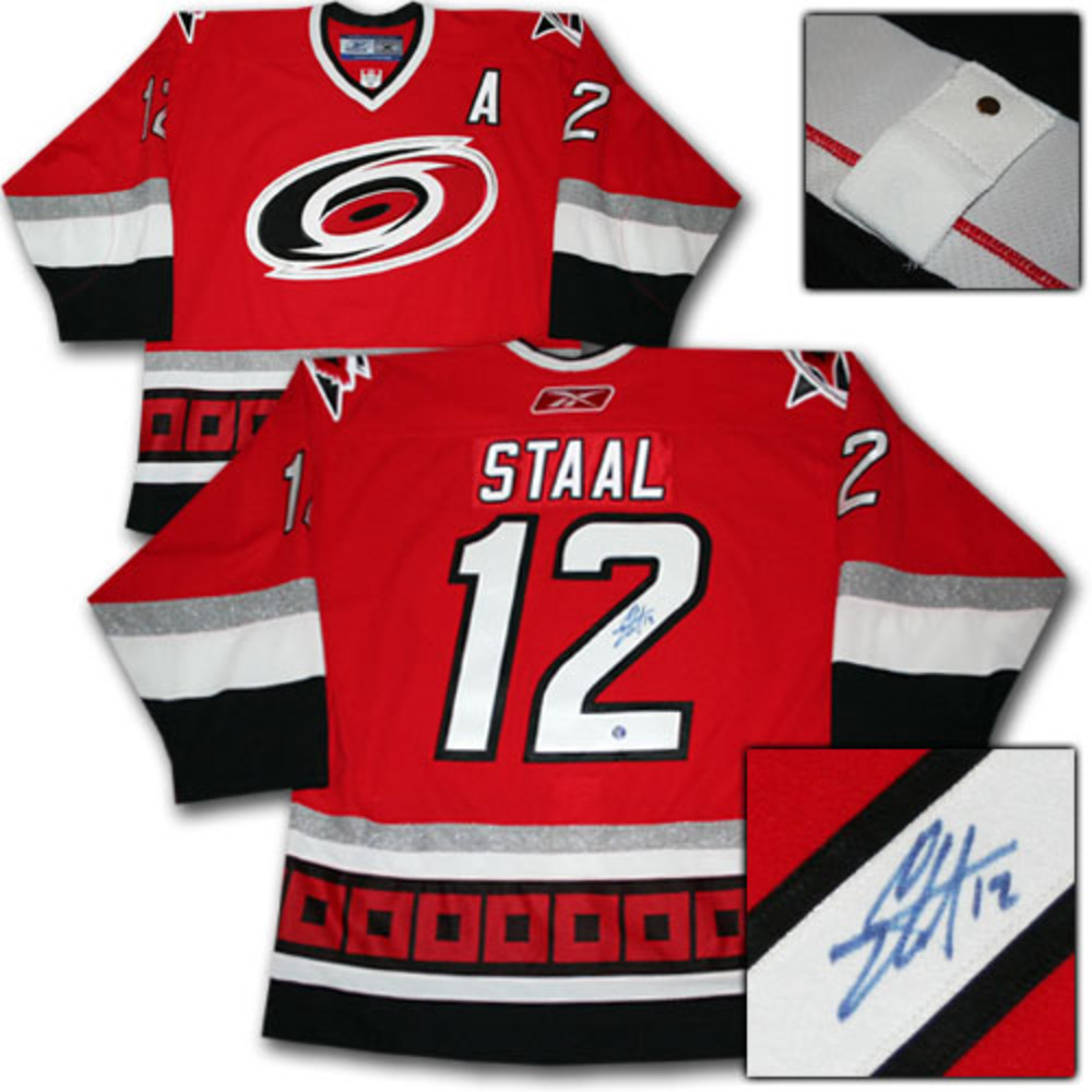 Eric Staal Autographed Carolina Hurricanes Authentic Pro Jersey
