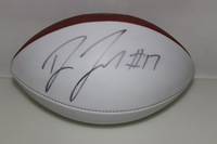 PANTHERS - DEVIN FUNCHESS SIGNED PANEL BALL (SMUDGED SIGNATURE)