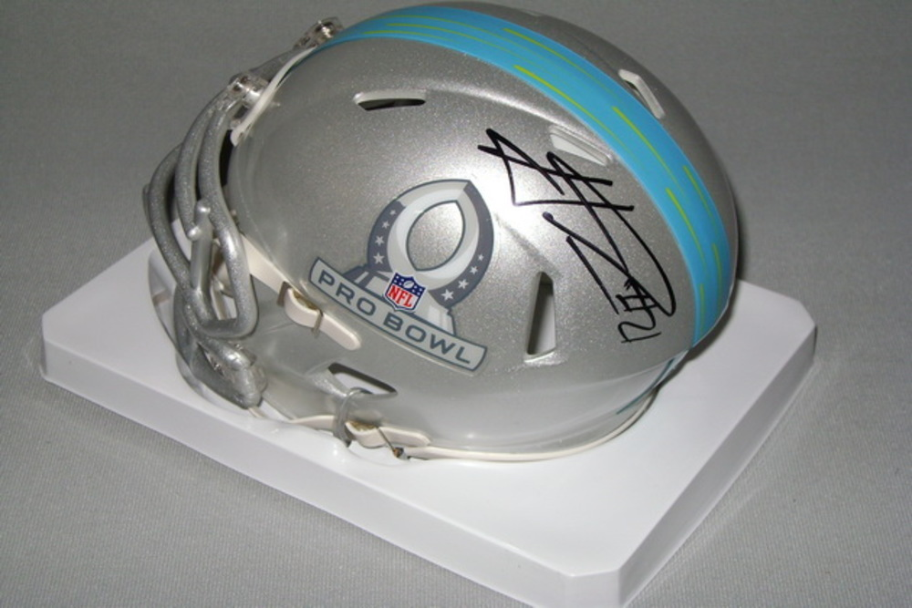 NFL - PACKERS HAHA CLINTON-DIX SIGNED 2017 PRO BOWL MINI HELMET