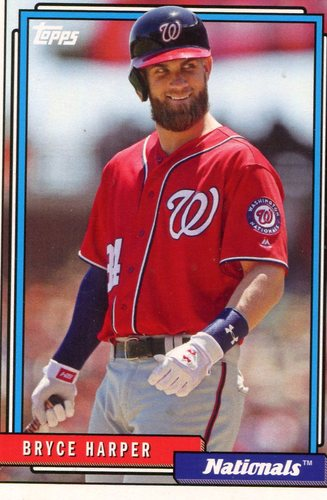 Photo of 2017 Topps Archives #250A Bryce Harper