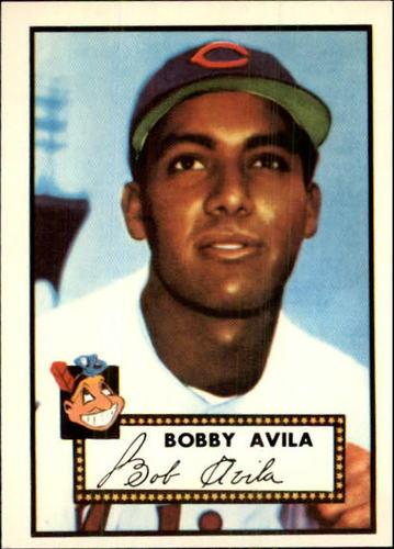 Photo of 1983 Topps 1952 Reprint #257 Bobby Avila