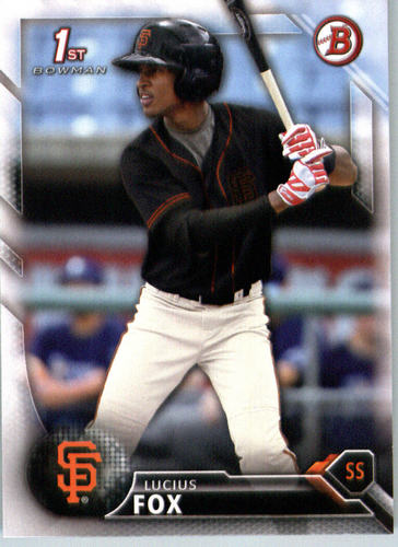 Photo of 2016 Bowman Prospects #BP13 Lucius Fox
