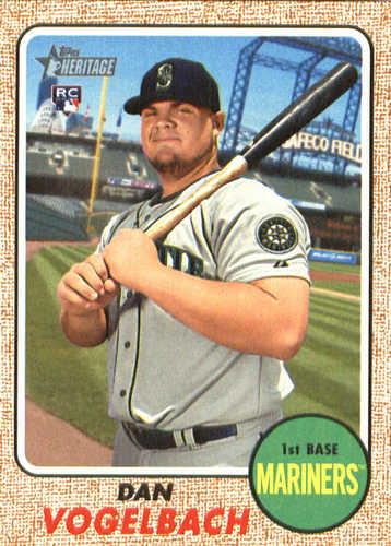 Photo of 2017 Topps Heritage #613A Dan Vogelbach RC