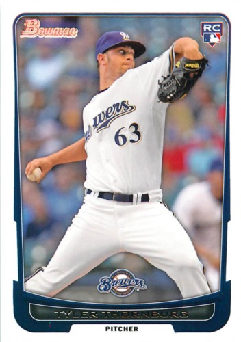 Photo of 2012 Bowman Draft #8 Tyler Thornburg RC