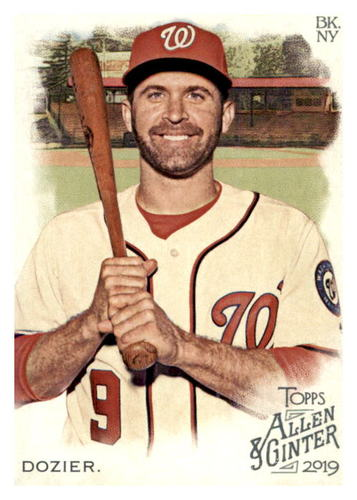 Photo of 2019 Topps Allen and Ginter #244 Brian Dozier