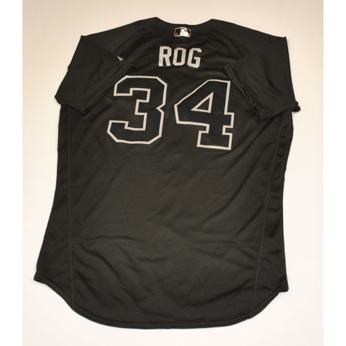 "Photo of Jake ""ROG"" Rogers Detroit Tigers Game-Used 2019 Players' Weekend Jersey"