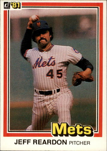 Photo of 1981 Donruss #156 Jeff Reardon RC