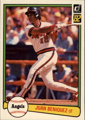 Photo of 1982 Donruss #587 Juan Beniquez
