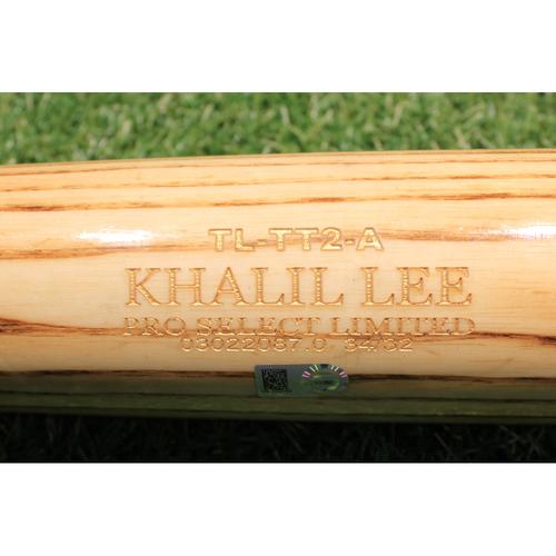 Photo of Team-Issued Bat: Khalil Lee