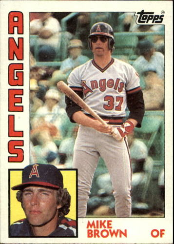 Photo of 1984 Topps #643 Mike C. Brown