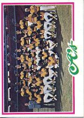Photo of 1978 Topps #577 Oakland Athletics CL