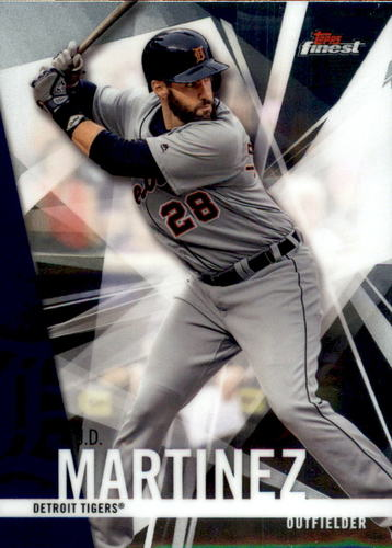 Photo of 2017 Finest #73 J.D. Martinez