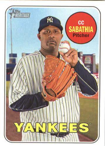 Photo of 2018 Topps Heritage #248 CC Sabathia