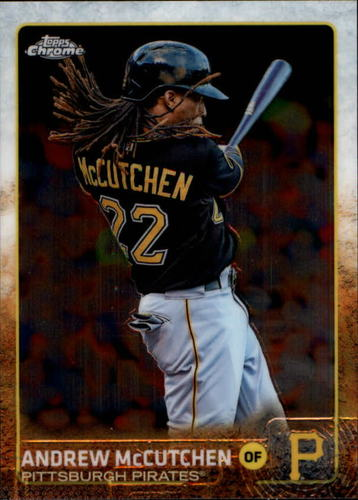 Photo of 2015 Topps Chrome #76 Andrew McCutchen