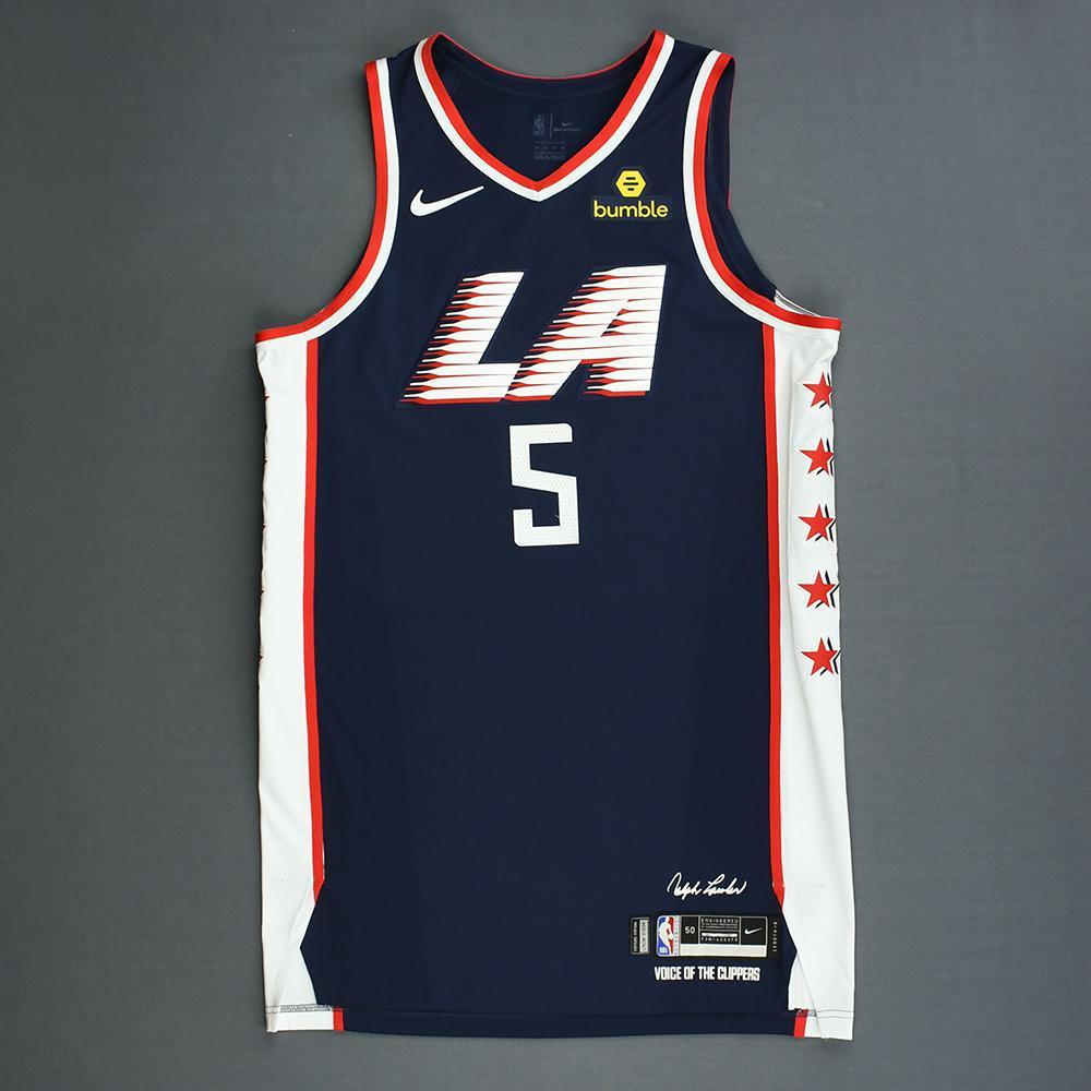 new product 8779e cdf4a Montrezl Harrell - Los Angeles Clippers - Game-Worn City ...