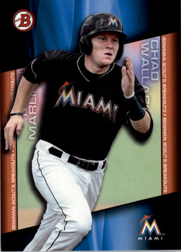 Photo of 2014 Bowman Draft Scouts Breakout #BSBCW Chad Wallach