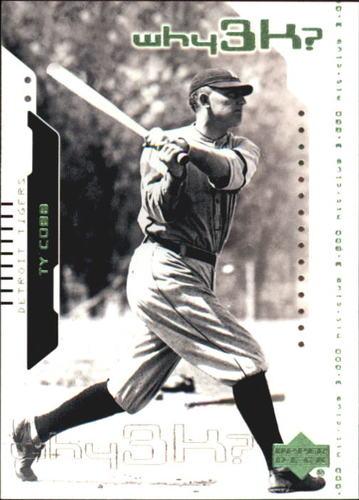 Photo of 2000 Upper Deck Hitter's Club #57 Ty Cobb W3K