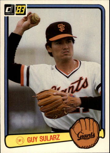 Photo of 1983 Donruss #605 Guy Sularz