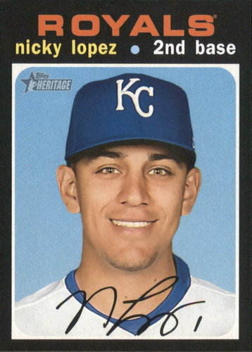 Photo of 2020 Topps Heritage #305 Nicky Lopez