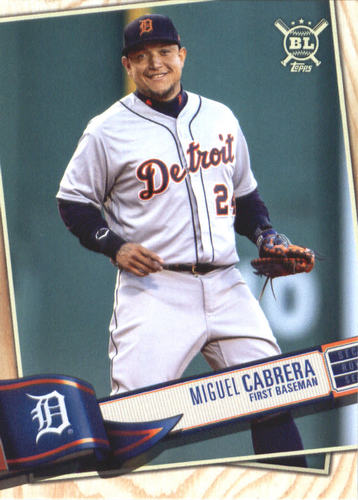 Photo of 2019 Topps Big League #211 Miguel Cabrera