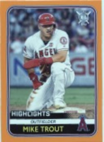 Photo of 2020 Topps Big League Orange #293 Mike Trout HL