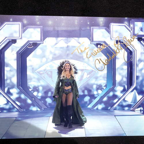 Photo of Charlotte Flair SIGNED large photo print