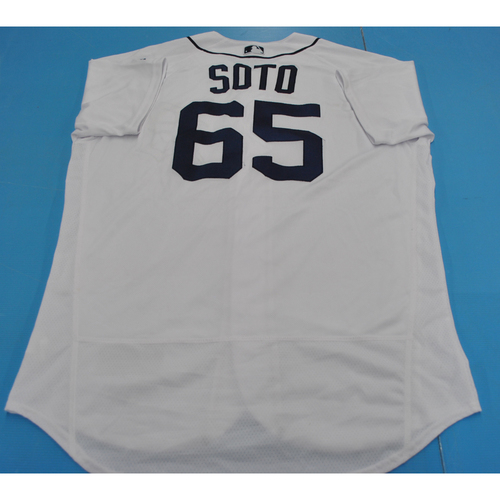 Photo of Game-Used Jersey - 2018 Arizona Fall League - Gregory Soto