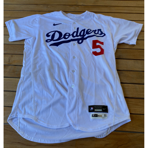 Photo of Corey Seager Game-Used Jersey from the 9/25/20 Game vs. LAA - Size 46