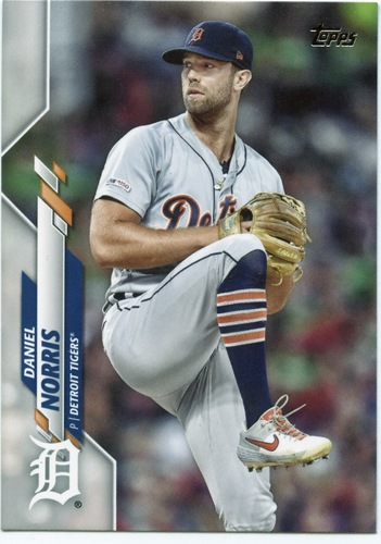 Photo of 2020 Topps #596 Daniel Norris
