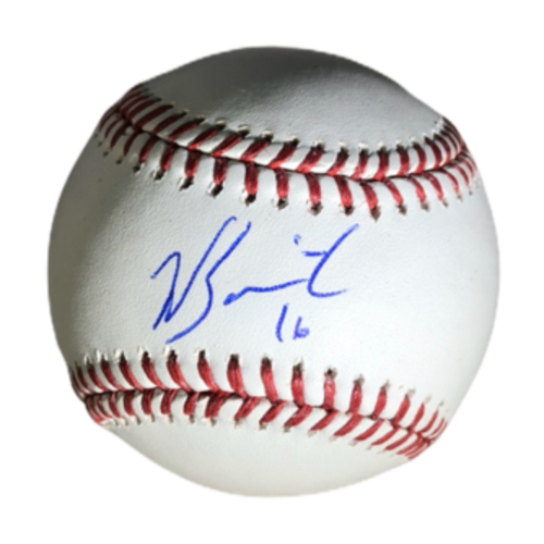 Photo of Will Smith Authentic Autographed Baseball