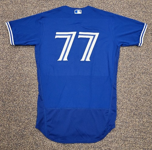 Photo of Authenticated Team Issued 2020 Spring Training Jersey: #77 Josh Palacios. Size 42