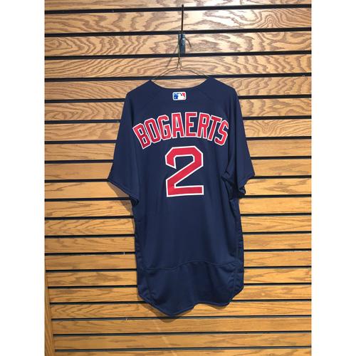 Xander Bogaerts Team Issued 2017 Road Alternate Jersey