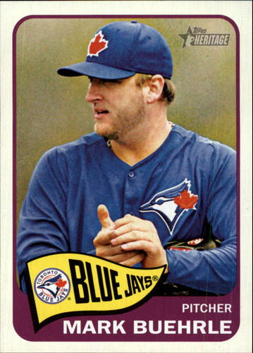 Photo of 2014 Topps Heritage #98 Mark Buehrle