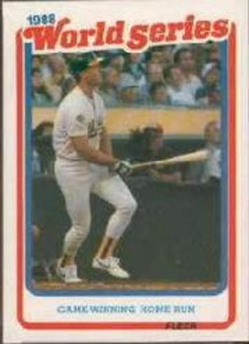 Photo of 1989 Fleer Glossy #WS8 Mark McGwire