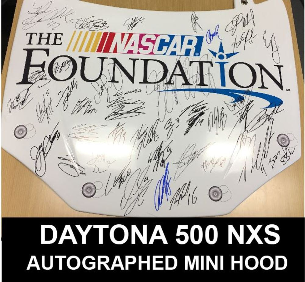 2017 DAYTONA 500 Autographed Replica Hood