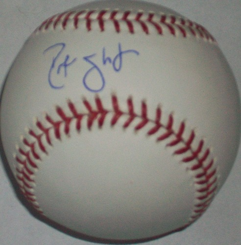 Photo of Ross Gload Autographed Baseball