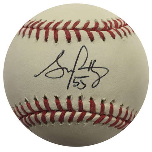 Cardinals Authentics: Stephen Piscotty Autographed Baseball