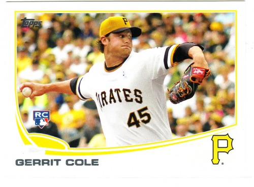 Photo of 2013 Topps Update #US150A Gerrit Cole Rookie Card