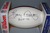 HOF - COWBOYS TONY DORSETT SIGNED PANEL BALL