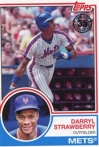Photo of 2018 Topps '83 Topps #8348 Darryl Strawberry