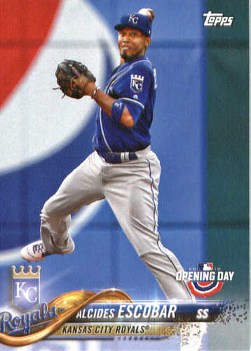 Photo of 2018 Topps Opening Day #165 Alcides Escobar