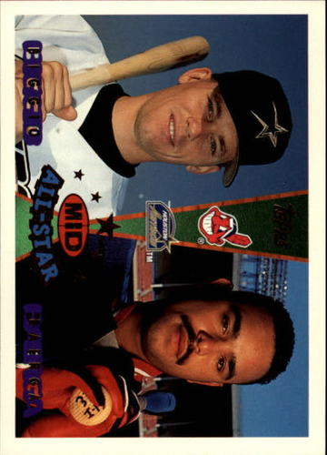 Photo of 1995 Topps Traded #157T C.Baerga/C.Biggio AS