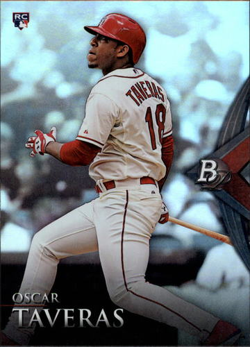 Photo of 2014 Bowman Platinum #96 Oscar Taveras RC